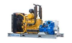 BBA Pumps - Model BA-C200H42 D557 - Diesel Driven High Head Bolt On Pump Package