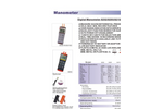 8230 - 30psi Manometer – Specifications