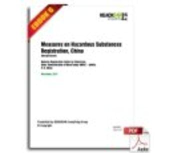Measures on Hazardous Substances Registration