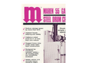 Maren - 55 - Gallon Steel Drum Crusher Brochure