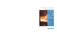 Dedusting Systems for Blast Furnaces and Steelworks Brochure