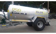 Agricultural LGP Slurry Tanker - Video