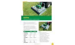 Major - Model CS Pro - HD Mower/Shredder for Compact Tractors - Brochure