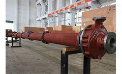 Tane - Model VS4 - Vertical Submerged Pump