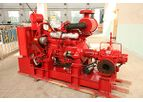 Tane - Model XB - Centrifugal Fire Pump