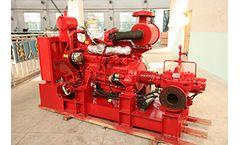 Tane - Model XB - Centrifugal Fire Pump