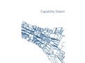 PROjEN Capability Statement Brochure