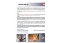 Thermo - Model ES - Foil Membrane- Brochure