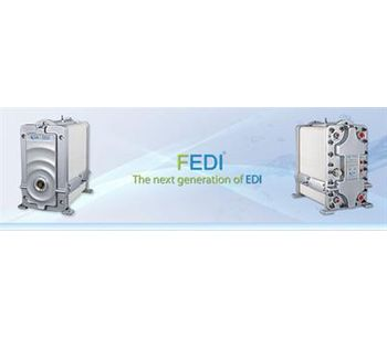 FEDI - Electrodeionization - Water and Wastewater