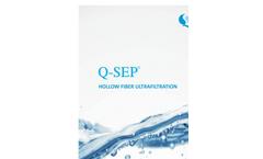 Q-SEP - Hollow Fiber Ultrafiltration Membranes Brochure