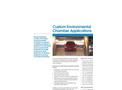 Custom Environmental Chamber Applications Brochure