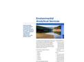 Environmental Analytical Services Brochure