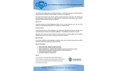 Level 2 Certificates and Diplomas in Sustainable Waste Operative - Brochure