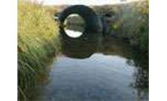 Wastewater treatment lowers pathogen levels