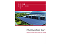 BELECTRIC - Photovoltaic Car Parks Roof System - Brochure