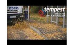 Tempest Leaf Blower System - Video