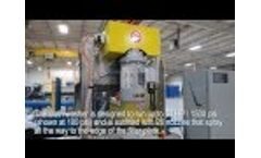 Filter Press Options: Automatic Filter Cloth Washer Video