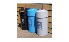 Model WGP/3 - Circular Polythene Litter & Recycling Bin