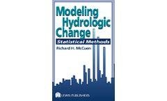 Modeling Hydrologic Change: Statistical Methods