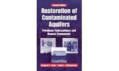 Restoration of Contaminated Aquifers: Petroleum Hydrocarbons and Organic Compounds, Second Edition