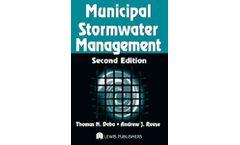 Municipal Stormwater Management, Second Edition