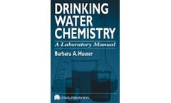 Drinking Water Chemistry: A Laboratory Manual