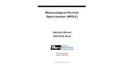 Operator Manual: Meteorological Particle Spectrometer (MPS)