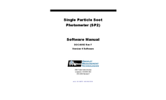 Single Particle Soot Photometer (SP2) - Software Manual