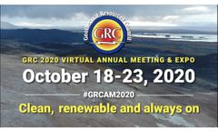 GRC`s 2020 Annual Meeting & Expo Goes Virtual! - Video