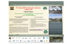 Eighth Africa Rift Geothermal Conference (ARGeo-C8) 2020 - Brochure