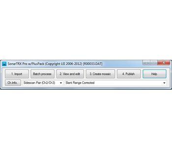 SonarTRX - Version Pro - Import Sonar Files Software
