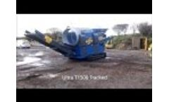 Mobile Trommel Screen - Soil Trommel - Compact trommel Video