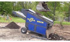 Screening for Topsoil in New York - Ultra Deck Screen - Video