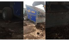 Double Deck Screener with Topsoil - Video