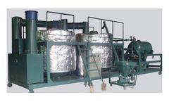 Chongqing - Model ZYA - Waste Engine Oil Treatment System