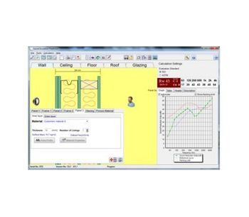 Insul - Sound Insulation and Impact Noise Predictions Software