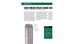 Mesh-Tech - Model ASW - Sand Screen Brochure