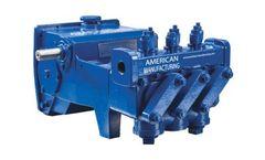 American - Model AL0918B - Piston Pump