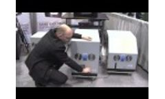 Noisy vacuum pump & Noise Reduction Enclosure from MS NOISE-Video