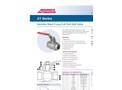 21 Series - Stainless Steel Manual Ball Valves Datasheet