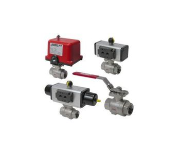 Assured Automation - Model 26 Series - Stainless Steel Actuated Ball Valves