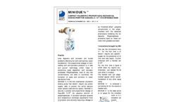 Acqua-Brevetti - Model AZ - Adapter for Bags - Brochure