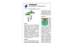 MiniBravo - Semi-Automatic Self-Cleaning Filter- Brochure