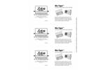 Zefon Bio-Tape - Model BT0025 - Surface Sampler - 25/Pack - Datasheet