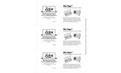 Zefon Bio-Tape - Model BT0025 - Surface Sampler - 25/Pack - Datasheet