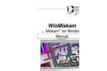 WinMiskam For Windows Manual