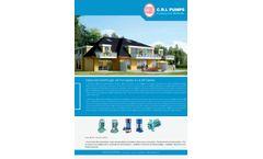 CRI - Model AJ & BP Series - Deepwell Centrifugal Jet Pumps - Brochure