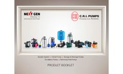 CRI - Model MHBS Series - Pressure Booster Pump System - Brochure