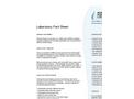 Lab Fact Sheet- Brochure