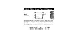 Model A0089 & A0096 - Coaxial Tight Fill Adapters- Brochure